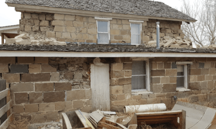 County's Oldest Intact Building Hit Hardest By Earthquakes