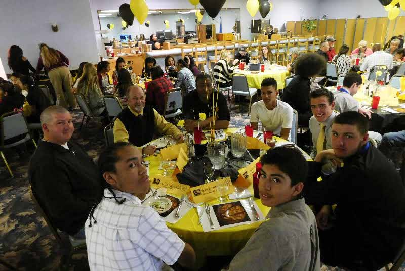 Championship dinner held for Mineral County High hoops team