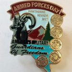 Lions Club AFD pins on sale