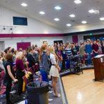 Northern Nevada Honor Choir Rehearses for Fallon Performance