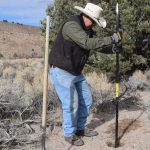 Local Scout Installs Post Anchors for Eagle Project