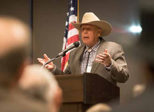 Cliven Bundy Hailed as a 'Hero' at Independent American Party State Convention in Sparks