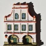 Sandomierz hand-made magnet