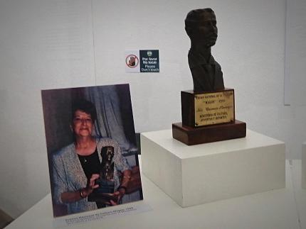 """Fotografía: Exposición """"De la Palabra a la Imagen. Carmen Naranjo, una apreciación plástica"""". Fundación Carmen Naranjo y Museo Municipal de Cartago"""