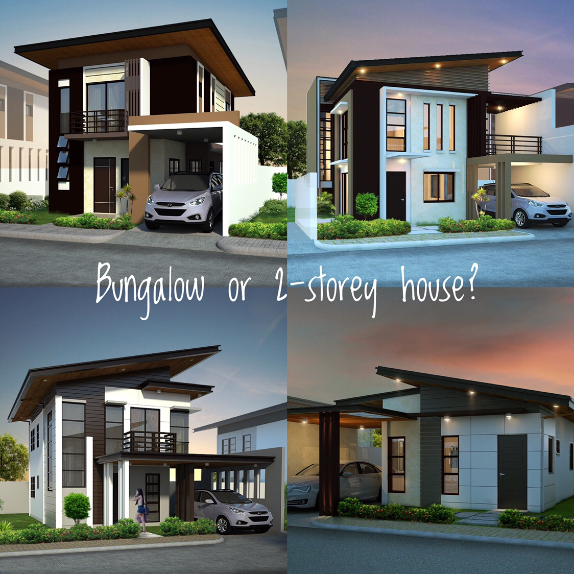 A Bungalow Or A 2-storey House?