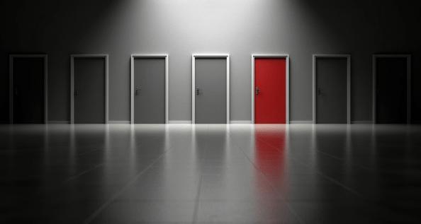 red door selection