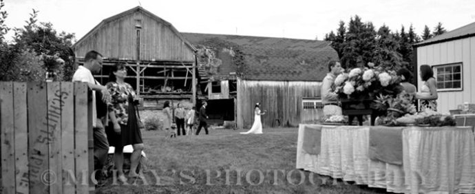 barn wedding reception in NY