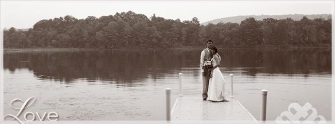 Southern NY rustic lakeside Wedding by film wedding photographer in NY