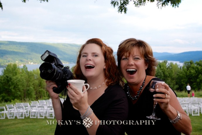 wedding Photographer Heather McKay and Sue Zeccola at Bristol Harbour Resort
