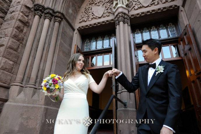 Anthony & Lizz's Buffalo Wedding at Babeville in Asbury Hall