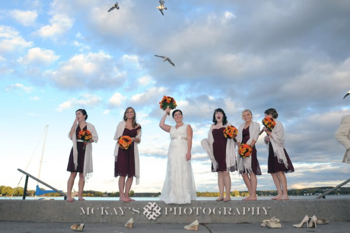 Finger Lakes wedding photos at Canandaigua Inn on the Lake