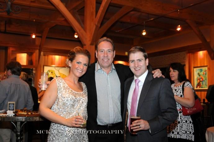 winter wedding at the NY Wine and Culinary Center with Senator Joe Robach