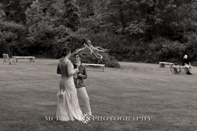 wedding bonfire in the backyard wedding photos