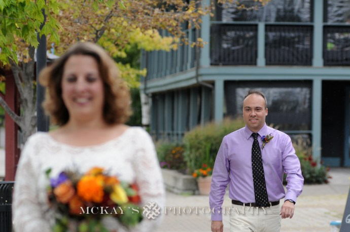 First Look photography in Pittsford NY by McKay's Photography