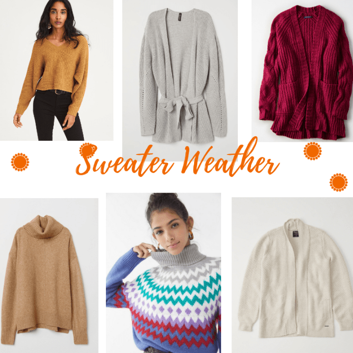 Cozy Sweaters & Cardis Under $100