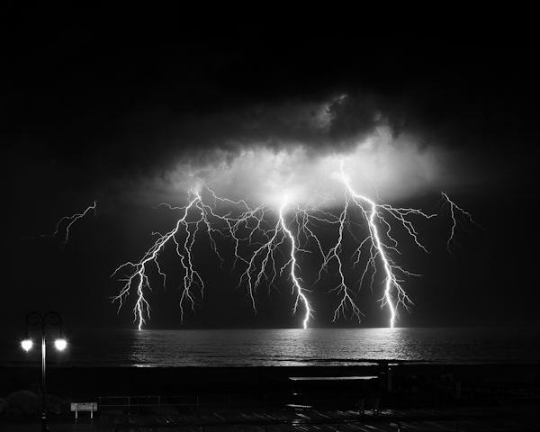 My Lightning Photo Belmar Beach Summer 2011
