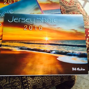 15 photo suitable for framing, great gift idea. each image would look great in a frame. Always a sellout here is your chance to order the 2016 Jersey Shore calendar by Bill Mckim A Jersey Shore tradition for over 6 years, this classic wall calendar for 2015 captures the beauty and seasons of the Jersey Shore with beautiful scenic photographs . It includes large grid spaces for daily notations,holidays are listed in each month. This calendar is a photographic gem of the Jersey Shore , all photography is done by noted Jersey Shore photographer Bill McKim who has photographed the Jersey shore for 25 years. The following towns are included in this years calendar, Avon, Bradley Beach, Ocean Grove, Asbury Park, Belmar, Spring Lake, Seagirt, Manasquan, Wildwood