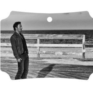 Vintage Bruce Springsteen Asbury park boardwalk photo