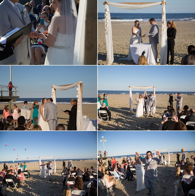 Avon by the sea Nj beach wedding The Columns wedding photos 2016