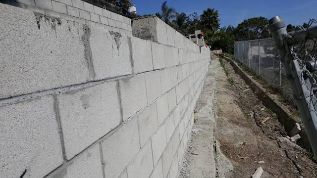 Waterproof Retention Walls in San Diego | Mckowski's Maintenance Systems