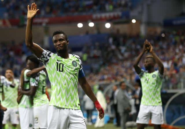 Nigeria captain John Obi Mikel reveals father was kidnapped before Argentina match