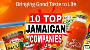 10 very IMPORTANT Jamaican COMPANIES