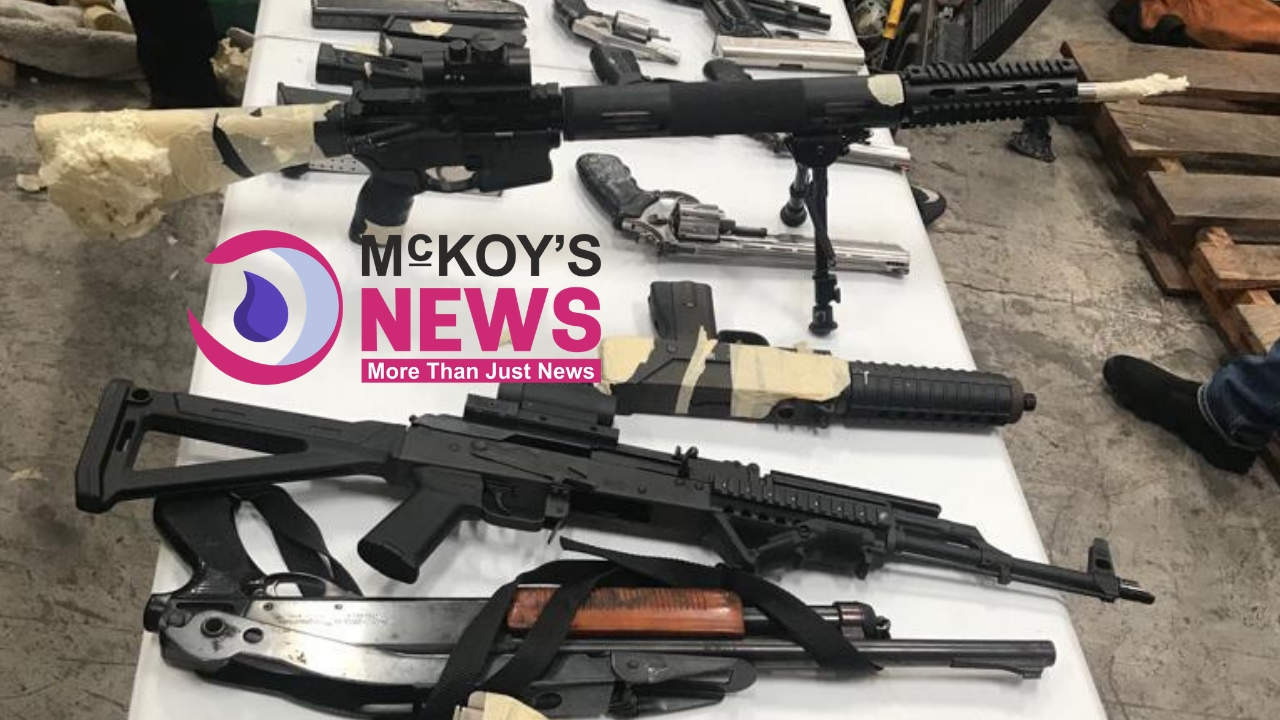 ST. CATHERINE SALES REP TAKEN INTO CUSTODY AND QUESTIONED IN CONNECTION WITH 20-GUNS, 791-ROUNDS SEIZED AT KINGSTON WHARF