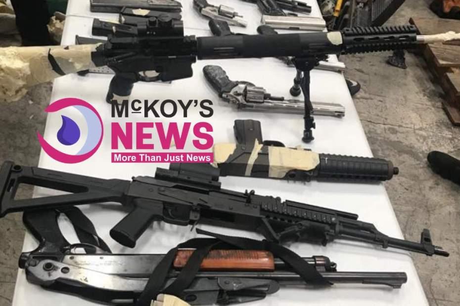 More guns seized at Mobay wharf