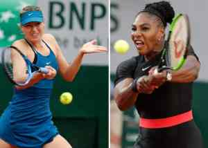 Serena 'betrayed' as Sharapova feud fires up French Open