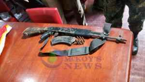 AK 47 Rifle Seized, Three Teenage Murder Suspects Arrested