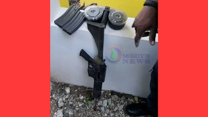 Two AK47 Rifles Seized