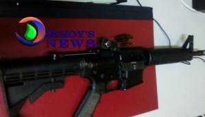 AR-15 Rifle Seized in Norwood, St. James