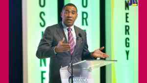 The Most Hon. Andrew Holness Chair, Conference Heads of Government, CARICOM