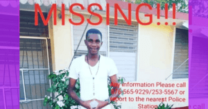 Andrew Williams Missing, from St Catherine