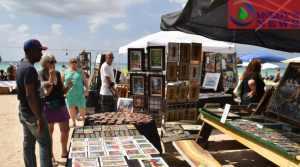 Art exhibits at Woodstock Complex, Negril