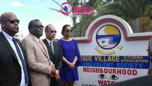 Custos, Attorney General and Security Minister Officially Launch Bogue Village Neighbor-Wood Watch In Mobay