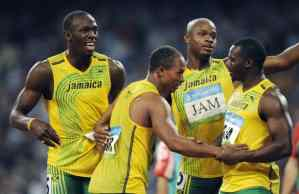 The Jamaican team is disqualified – medals shall be returned
