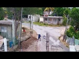 Shocking: Caught On Camera In St. Elizabeth Jamaica