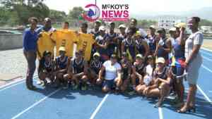 Columbian Athletes End 10-Day Training Camp in Jamaica