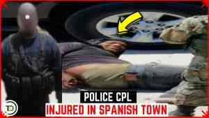 Cop INJURED in Willowdene, Spanish Town