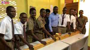 Page 3: Members of the Cornwall College Schools Challenge Quiz Team