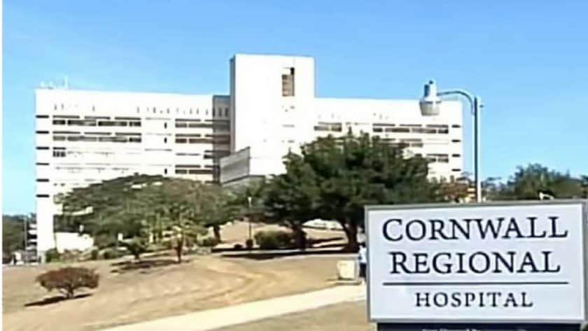 Cornwall Regional Hospital Exposed