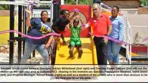 Sandals Foundation Hands Over New Play Area to Culloden Early Childhood Institute