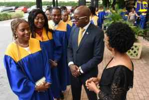 PHOTOS: Senator Pearnel Charles Jr. at MIND's 19th Annual Graduation Ceremony