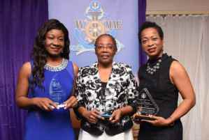 Three Female Stalwarts of the Maritime Industry Honoured