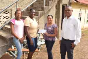 Jamaica Labour Party  Donates Money to Clifton Boys' Home