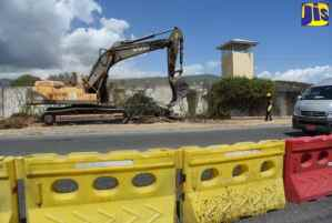 Work Under Way to Relocate JDF's Main Entrance