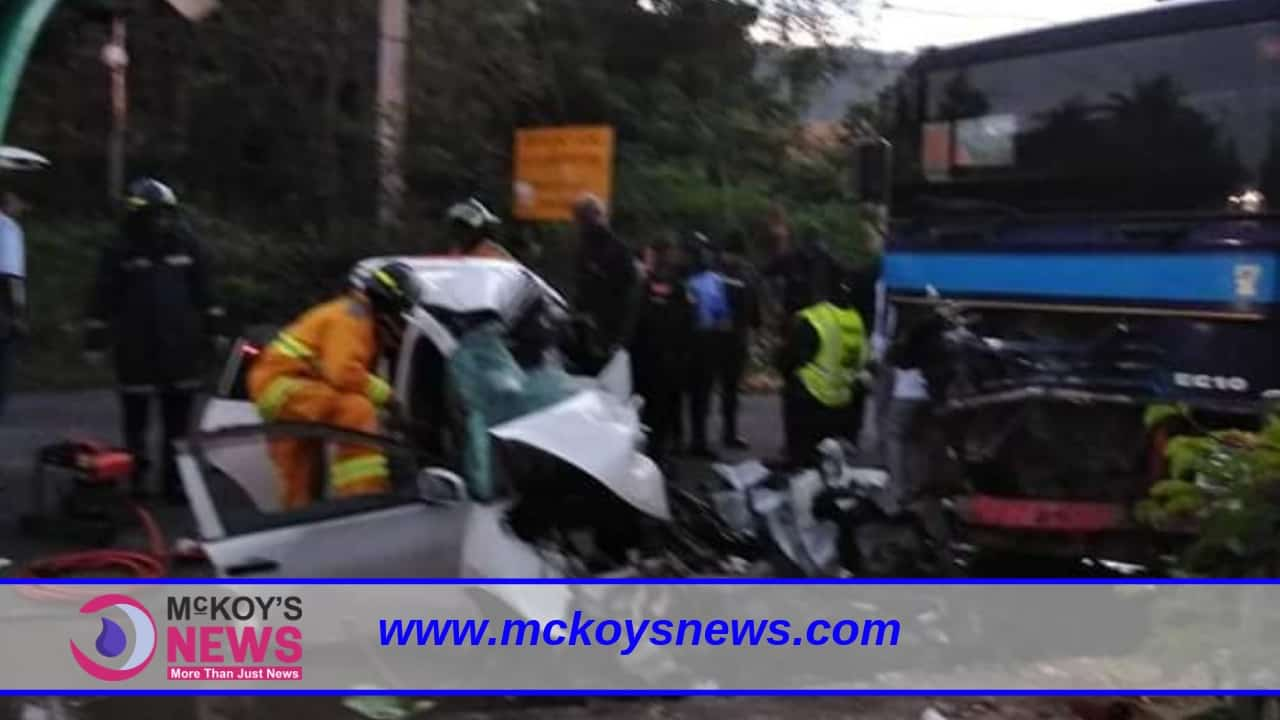 Spanish Town Double Fatal Accident