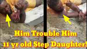 Video: Man Who Allegedly Molested 11-Year-Old Step-Daughter Mobbed by Residents