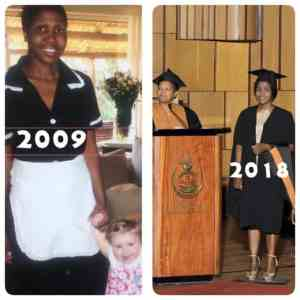 From Domestic Worker To Graduate! The Story Behind This Viral Photo